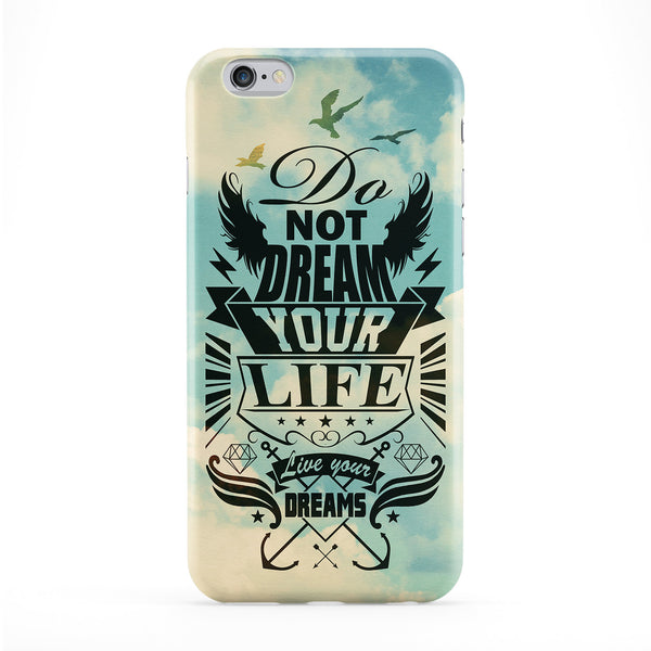 Do Not Dream Phone Case by Gangtoyz