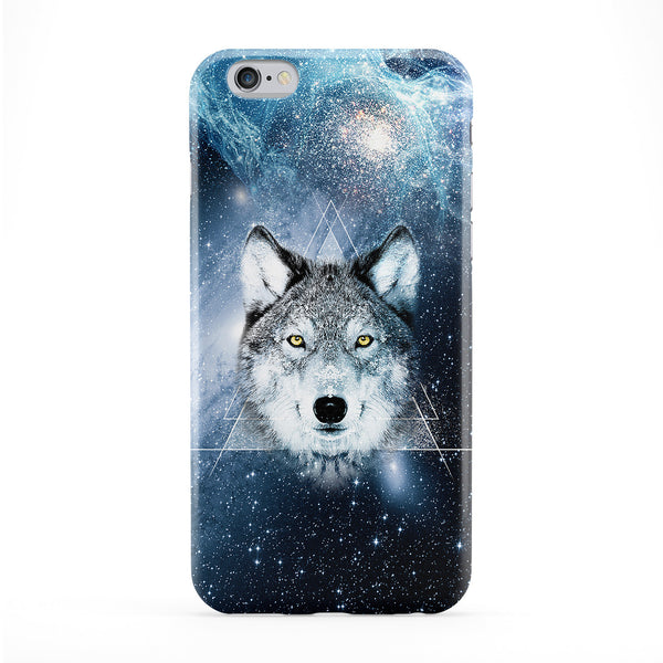 Cosmo Wolf 1 Full Wrap Protective Phone Case by Gangtoyz