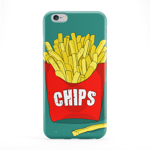 Chips Green Phone Case by Gangtoyz