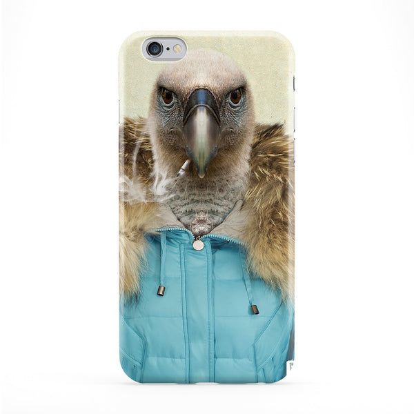Chantal Vulture Full Wrap Protective Phone Case by Gangtoyz