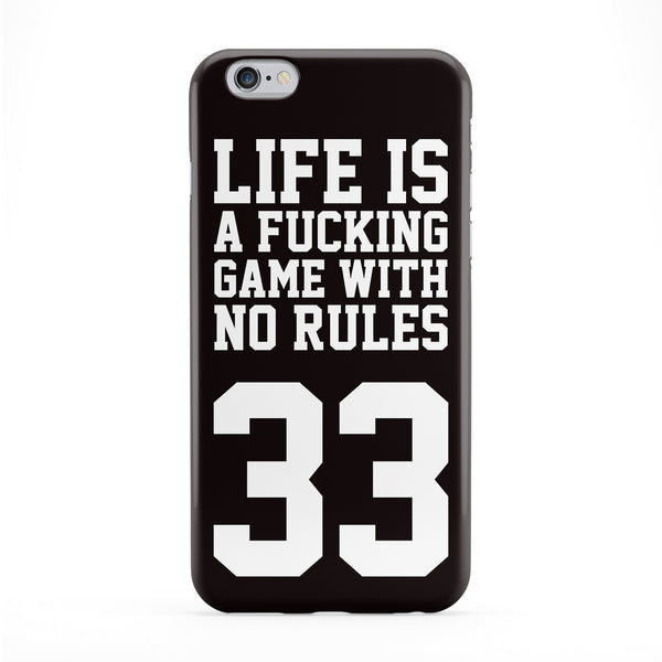 Case No Rules Full Wrap Protective Phone Case by Gangtoyz