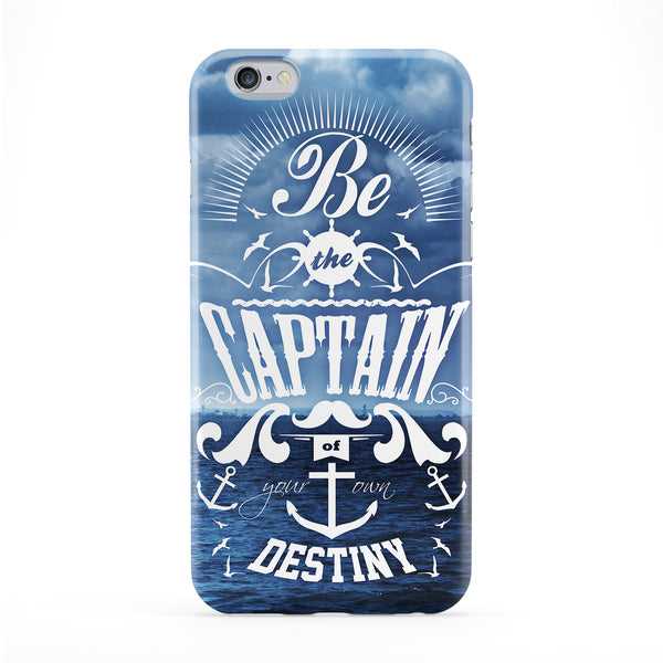 Be The Captain Full Wrap Protective Phone Case by Gangtoyz
