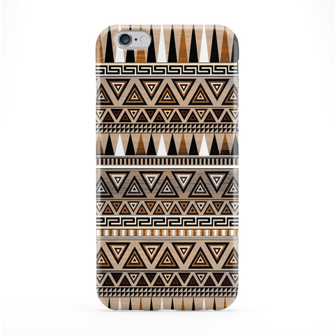 Aztec Centeal Full Wrap Protective Phone Case by Gangtoyz
