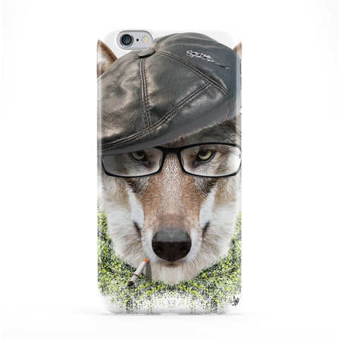 Wold with Hat Phone Case by Gangtoyz