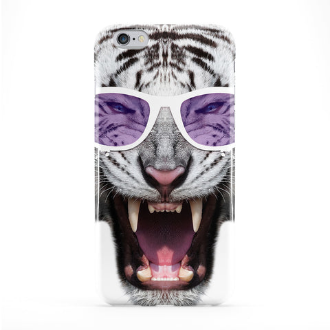 White Fury Tiger Phone Case by Gangtoyz
