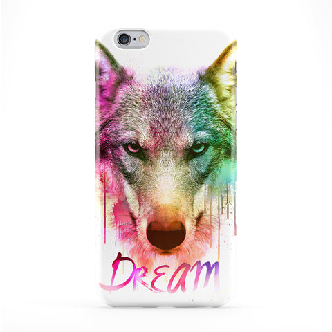 Watercolor Wolf Phone Case by Gangtoyz