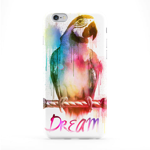 Watercolor Parrot Phone Case by Gangtoyz