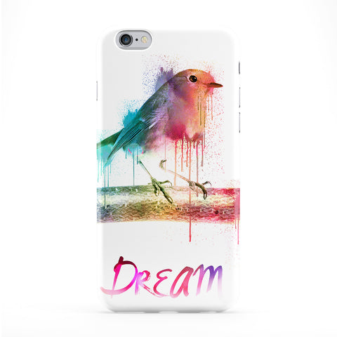 Watercolor Nightingale Phone Case by Gangtoyz