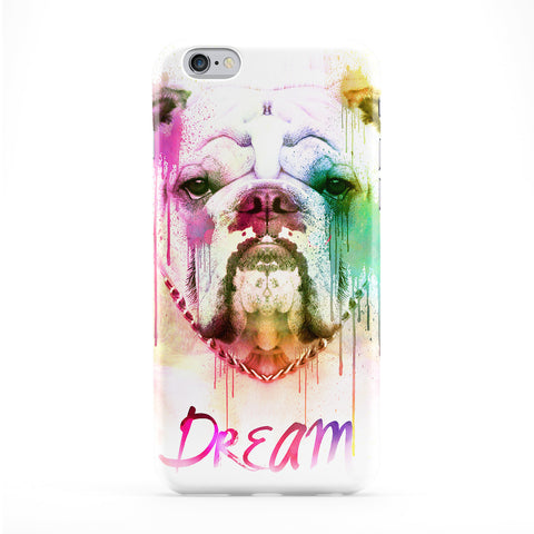 Watercolor Bulldog Phone Case by Gangtoyz