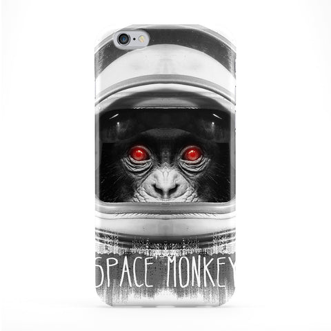 Space Monkey Full Wrap Protective Phone Case by Gangtoyz