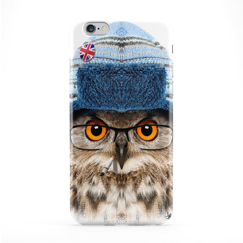 Owl with Hat Phone Case by Gangtoyz