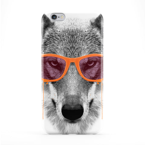 Orange Swag Wolf Full Wrap Protective Phone Case by Gangtoyz
