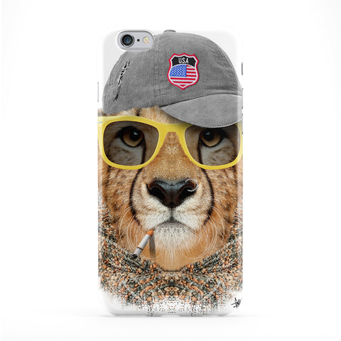 Lion with Cap Full Wrap Protective Phone Case by Gangtoyz