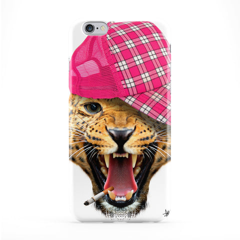 Leopard with Cap Full Wrap Protective Phone Case by Gangtoyz