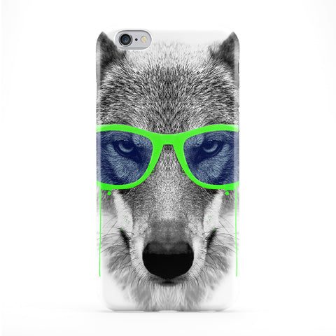 Green Swag Wolf Full Wrap Protective Phone Case by Gangtoyz