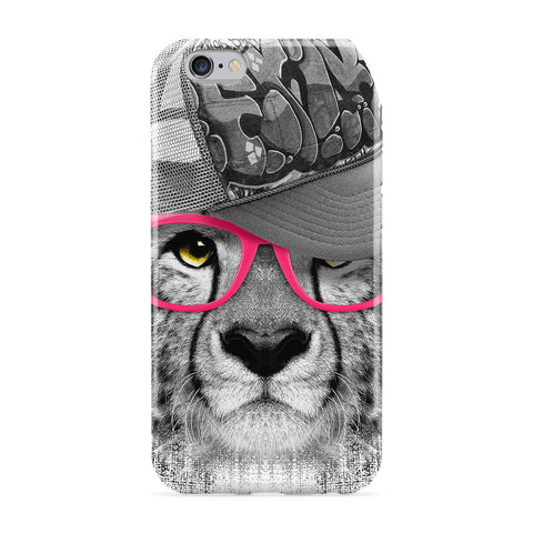 Ghetto Cheetah Full Wrap Protective Phone Case by Gangtoyz