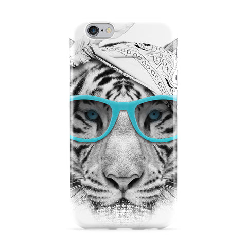 Gangsta Tiger Full Wrap Protective Phone Case by Gangtoyz