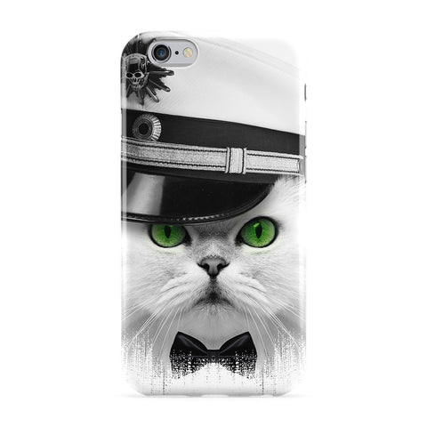 Captain Cat Full Wrap Protective Phone Case by Gangtoyz