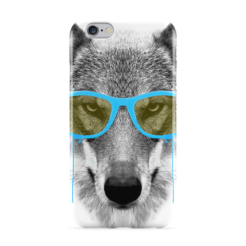 Blue Swag Wolf Full Wrap Protective Phone Case by Gangtoyz