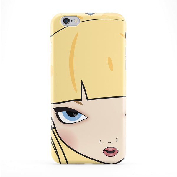 Alice Face Phone Case by Gadget Glamour