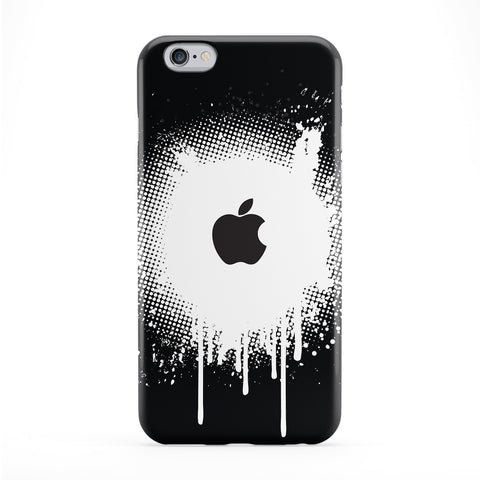 Apple Spray Black Phone Case by Gadget Glamour