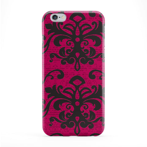 Damask - Red Phone Case by Gadget Glamour