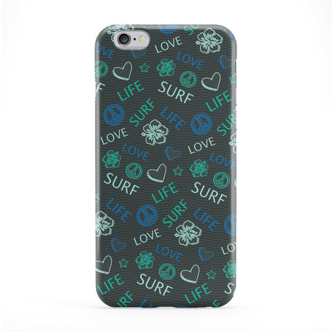 Love Life, Surf - Green Phone Case by Gadget Glamour