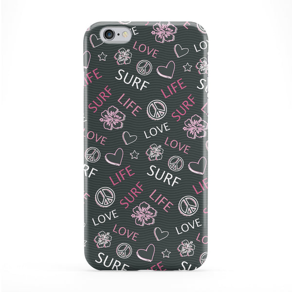 Love Life, Surf - Pink Phone Case by Gadget Glamour