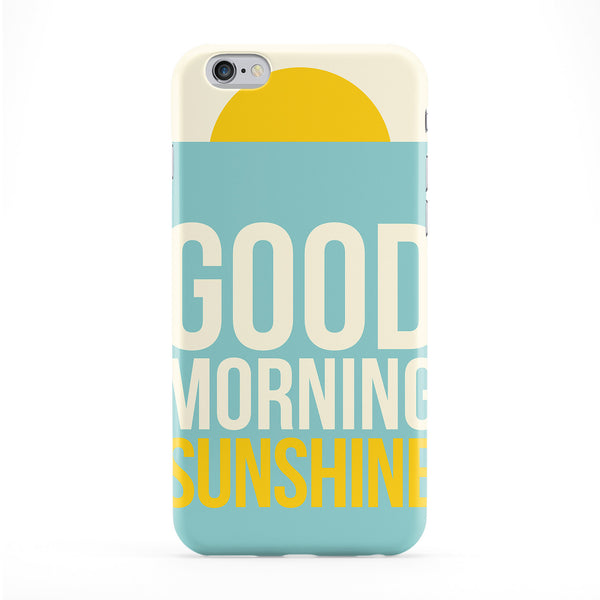 Good Morning Sunshine Phone Case by LoopzArt