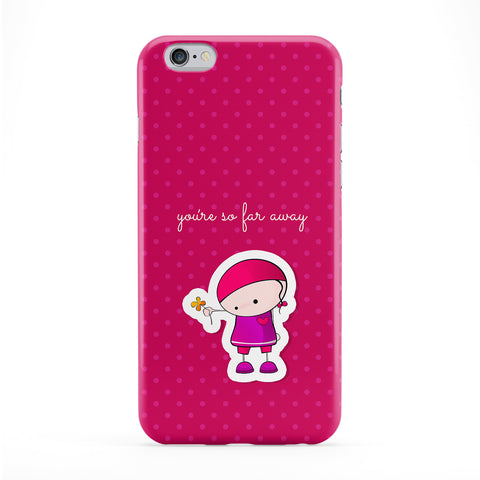 You're So Far Away Full Wrap Protective Phone Case by UltraCases