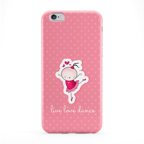 Live Love Dance Full Wrap Protective Phone Case by UltraCases