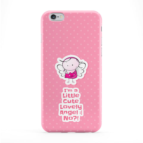 Little Cute Lovely Angel Full Wrap Protective Phone Case by UltraCases