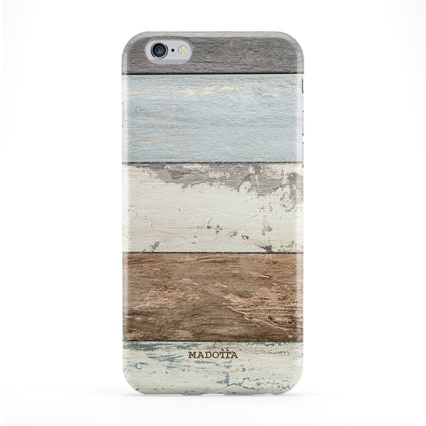 Wooden Stripes Full Wrap Protective Phone Case by UltraCases