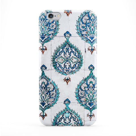 Vintage Floral Pattern Full Wrap Protective Phone Case by UltraCases
