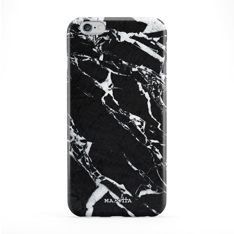 Black Marble Full Wrap Protective Phone Case by UltraCases