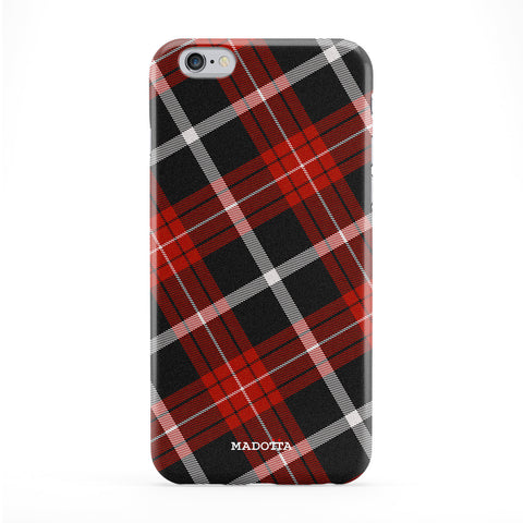 Red Tartan Phone Case by UltraCases