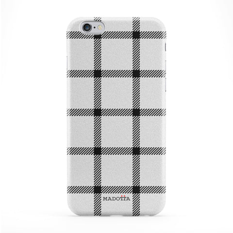 BW Tartan Pattern Phone Case by UltraCases