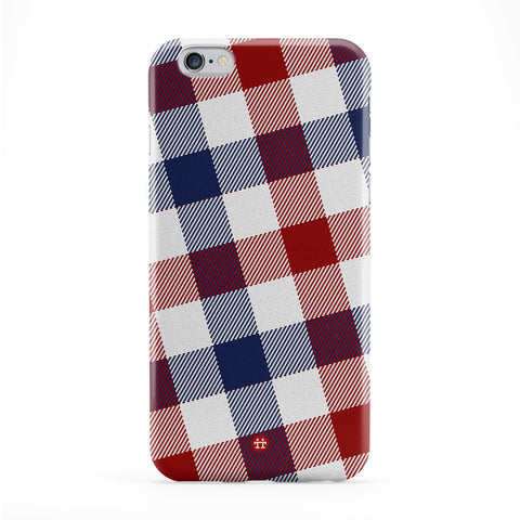 Blue and Red Tartan Pattern Phone Case by UltraCases