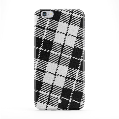 Black and White Tartan Pattern Phone Case by UltraCases