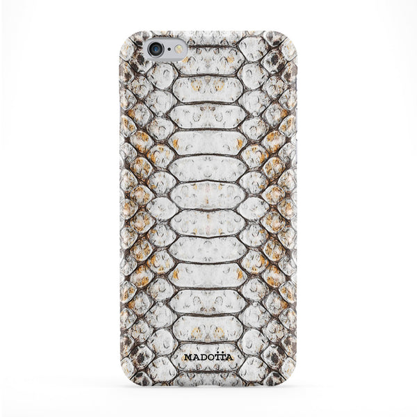 Light Snake Sking Pattern Full Wrap Protective Phone Case by UltraCases