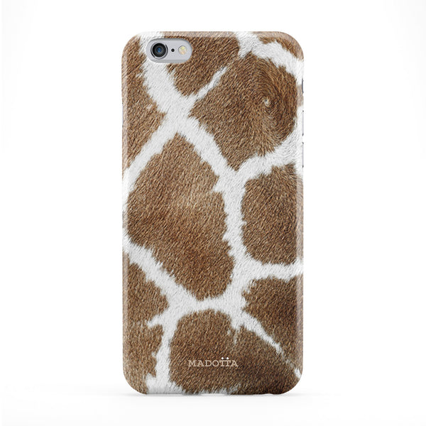 Giraffe Skin Texture Full Wrap Protective Phone Case by UltraCases