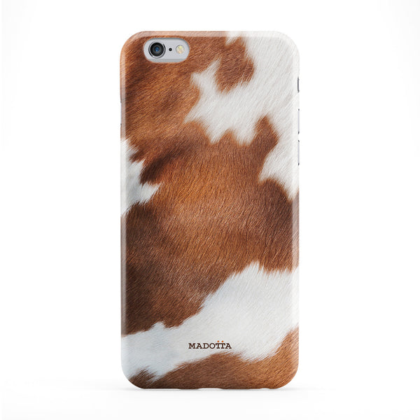 Brown Cowhide texture Phone Case by UltraCases