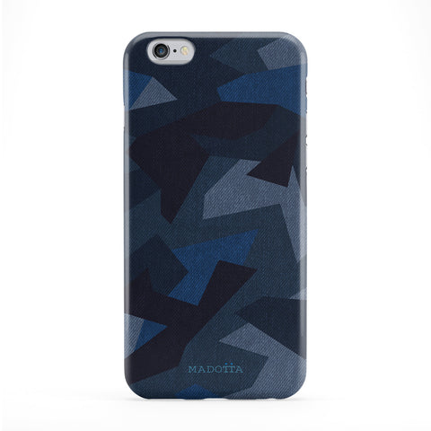 Blue Navy Camouflage Pattern Phone Case by UltraCases