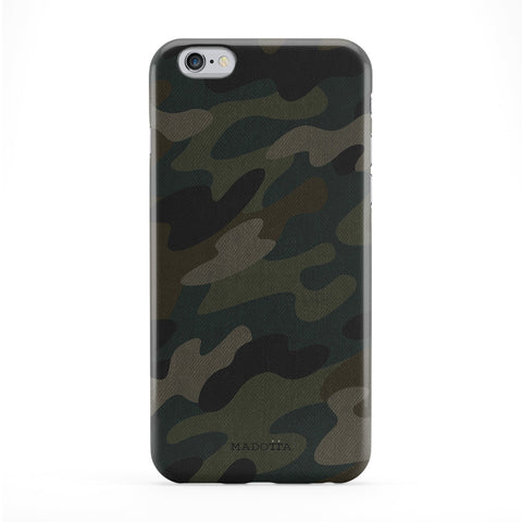 Army Camo Pattern Full Wrap Protective Phone Case by UltraCases