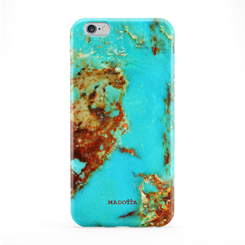 Turquoise Marble Phone Case by UltraCases
