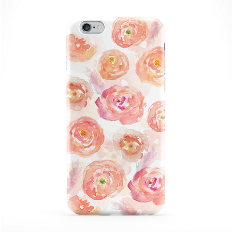Watercolour Golden Roses Pattern Phone Case by UltraCases