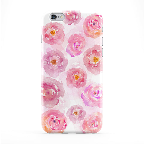 Pink Watercolor Roses Phone Case by UltraCases