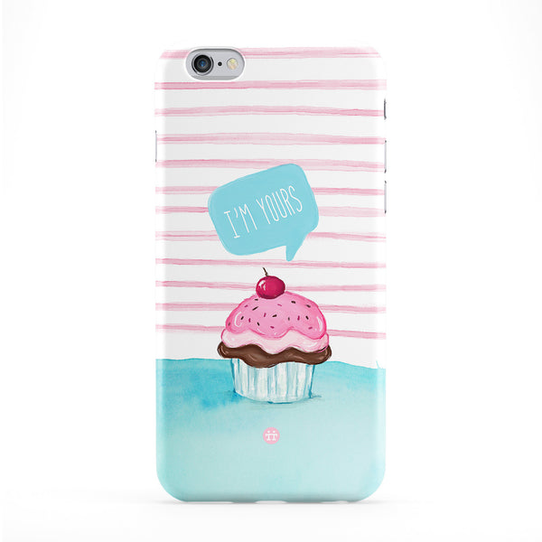Cute Cupcake I'm Yours Full Wrap Protective Phone Case by UltraCases