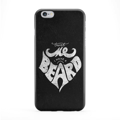Trust Me I Have a Beard Black Full Wrap Protective Phone Case by UltraCases