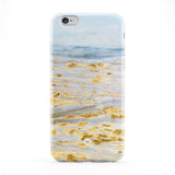 Golden River Marble Full Wrap Protective Phone Case by UltraCases